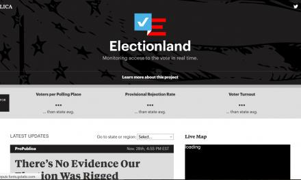 Electionland: ProPublica garde un oeil sur les votes