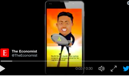 Snapchat propulse The Economist