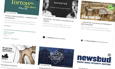 2018, année record pour le journalisme sur Kickstarter