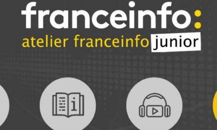 Lancement de l'application «L'atelier France Info Junior»