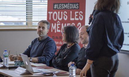Atelier recherche: la haine des journalistesen question