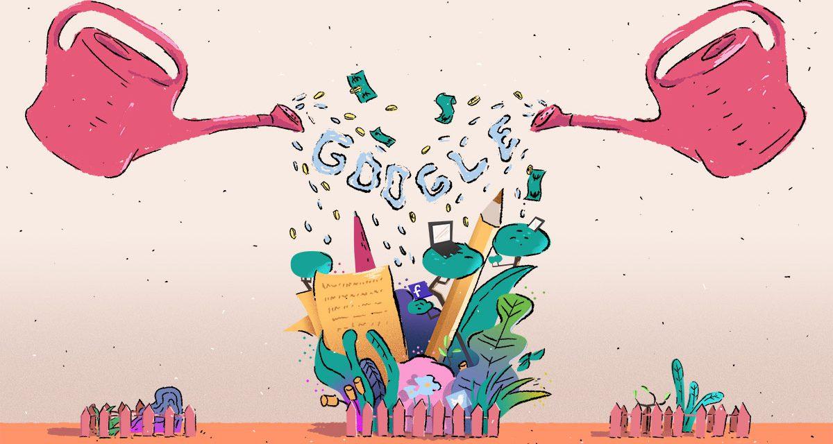 Google se pose en sauveur du journalisme