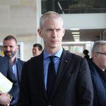 """Franck Riester a annoncé le 25 septembre la création de """"France Médias""""."""